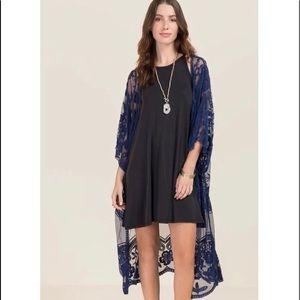 Francesca's Lace kimono